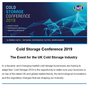 FSDF launches Cold Storage Conference